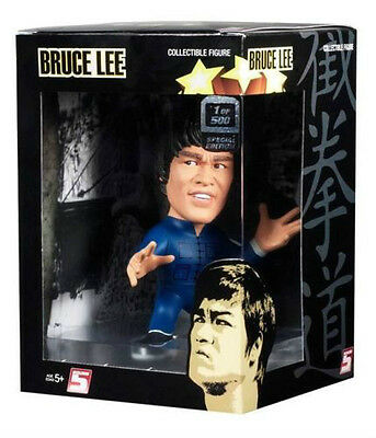 BRUCE LEE IN BLUE JUMP SUIT LIMITED 1 OF 500 VARIANT FIGURE NEW *COLLECTABLE*