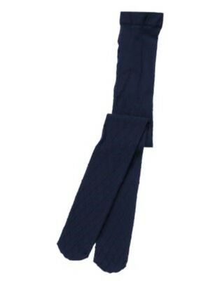 Gymboree Bundled & Bright Navy Quilted Tights 4 5 6 Nwt