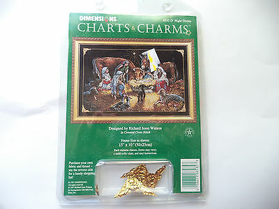 Dimensions Charts and Charms Christmas counted cross stitch-O'Night Devine