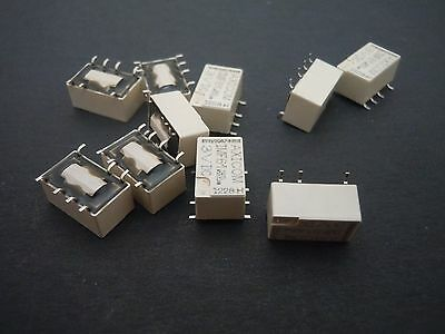 10Pcs  3V 2A Latching Relay Single Coil Latching Relay SMD