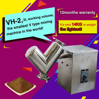 VH-2,small V Type Powder Mixer Mixing Machine,blender for pharmaceutical, food