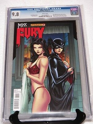 CGC 9.8 MISS FURY (2013) #7 COVER 'A' / BILLY TAN COVER - NICE
