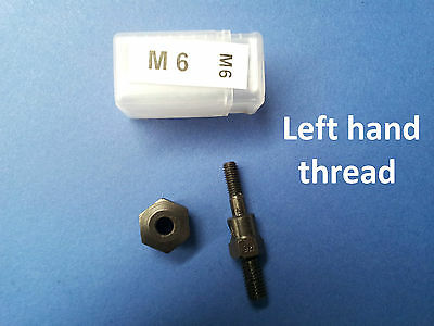 SPARE MANDREL M6 left hand thread for NUTSERT RIVNUT TOOLS