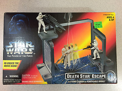 STAR WARS POTF THE POWER OF THE FORCE DEATH STAR ESCAPE