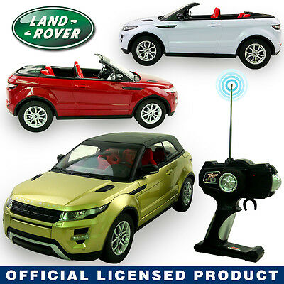 1:12 RANGE LAND ROVER EVOQUE Electric RC Radio Remote Control Model Car Kids Toy