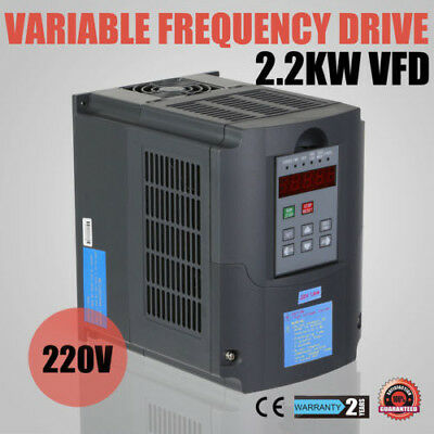 3Hp 2.2Kw Vfd Frequenzumrichter Load Capability Avr Technique Low Output Ce