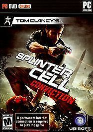 Tom Clancy's Splinter Cell: Conviction  (PC, 2010) Brand NEW Factory Sealed!!