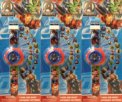 Lot The Avengers Children Kids Projection Watch Party Gift Different 20 images