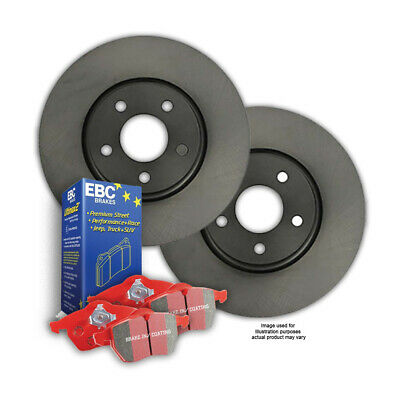 FRONT DISC BRAKE ROTORS + EBC CERAMIC PADS for Holden Commodore VT VU VX VY VZ