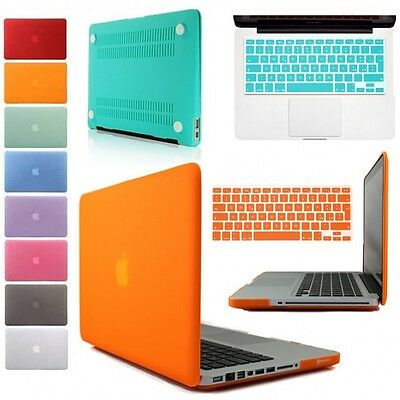 "Cover Custodia Rigida Per Apple Macbook Pro 15"" A1286 Copri Tastiera Silicone"