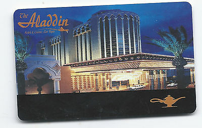 ALADDIN HOTEL & CASINO, LAS VEGAS, NV PLAYERS CLUB CARD/SLOT CARD