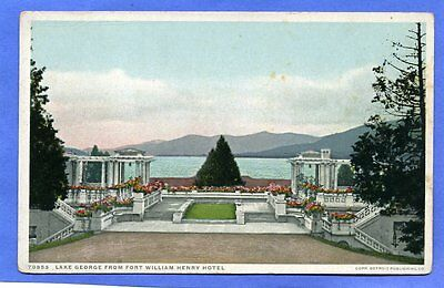 LAKE GEORGE NY FORT WILLIAM HENRY HOTEL & LAKE VIEW NOW JUST $3.49 *