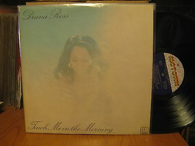 Diana Ross Touch Me in the Morning LP Motown M772L Stereo