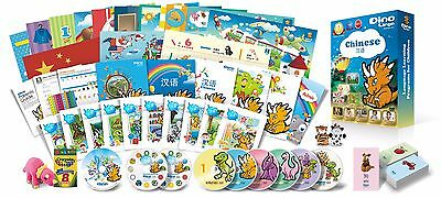 Chinese for Kids Premium set, Chinese learning DVDs, Books, Posters, Flashcards