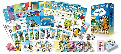 Arabic for Kids Premium set, Arabic learning DVDs, Books, Posters, Flashcards