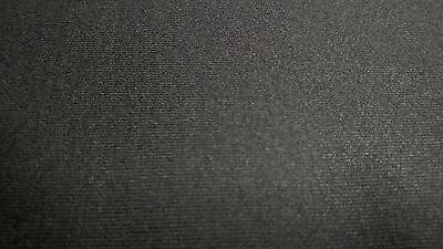 "Headliner Fabric Dark Gray Upholstery Auto Pro 3/16"" Foam Backing 120""L X 60""W"
