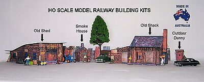 HO Scale Country Farm Set, Model Railway Building Kit - CFS1