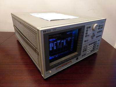 Agilent / HP 4156A Precision Semiconductor Parameter Analyzer - CALIBRATED!
