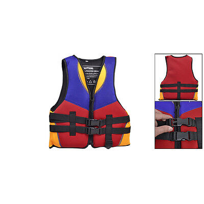 gift Red Blue Orange Water Sports Swimming Life Jacket Vest Size S for Children