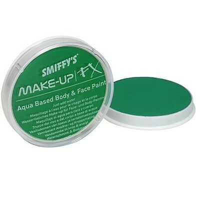 Smiffys FX Fancy Dress Make Up Water Based Face Paint 16ml Bright Green New