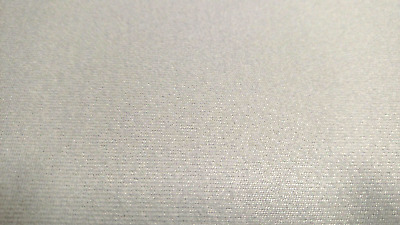 "Light Gray Upholstery Auto Pro Headliner Fabric 3/16"" Foam Backing 60""L X 60""W"