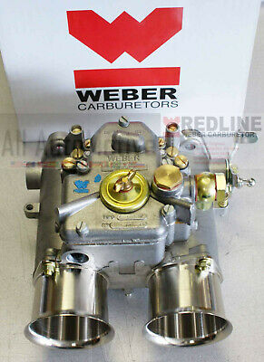 "Weber 50 DCOE Carburetor - 50DCO/SP European Weber Carb - w/Drive lever - ""Male"""