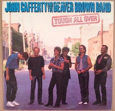 John Cafferty And The Beaver Brown Band - Tough All Over - Near Mint Vinyl LP