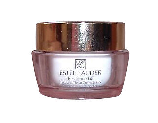 Estee Lauder Resilience Lift Face and Throat Creme SPF 15.   .5 Ounce