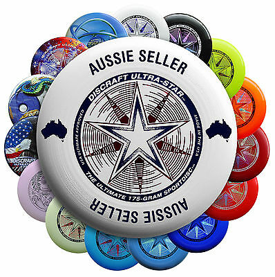 Discraft Ultra-Star Ultimate Frisbee Aussie Seller