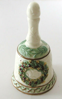 Holiday Style Porcelain Bell In Original Box