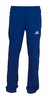 Mens New Adidas Tracksuit Jogging Bottoms Joggers Sweat Track Pants - Blue
