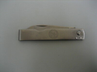 VINTAGE IMPERIAL STAINLESS BOY SCOUT POCKET KNIFE FOLDING SINGLE BLADE USA