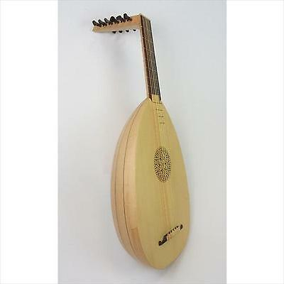 EMS Heritage 6 Course Hieber Lute + Hard Case **NEW 2015 MODEL**