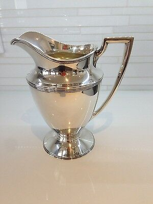 Vintage Tiffany Sterling Silver Water Pitcher 1900-1940