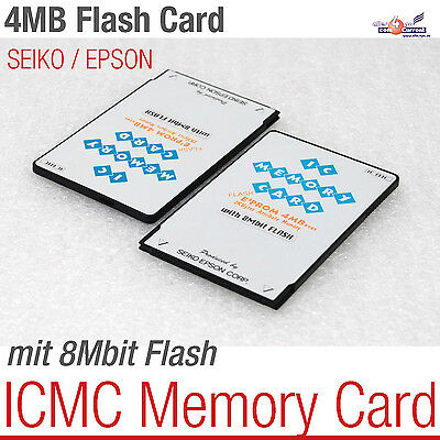 Seiko Epson Eprom Flash Card 4 Mb Smart Icmc Memory Card Cisco Router1000-Series