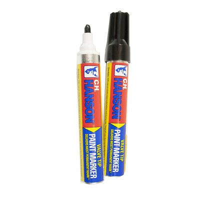 CH Hanson 10360 Black Paint Marker - 1 Count