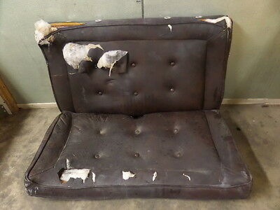 Mooney M20K 231 Aircraft Aft Rear Bench Seat Back And Bottom Assy