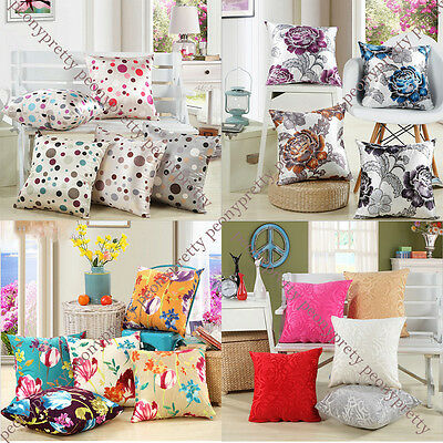 mixed decorative comfy cushion pillow cover case car bed sofa home decor gift