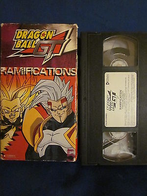 Dragonball Z GT Ramifications VHS Unsealed