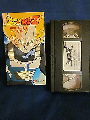 Dragonball Z Perfect Cell Temptation VHS Unsealed