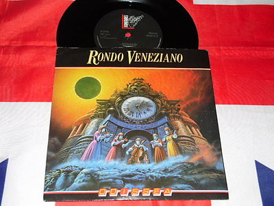 "Rondo Veneziano Odissea / Mosaico - Single 7"" Press 1985 Fanfare Uk n lp"