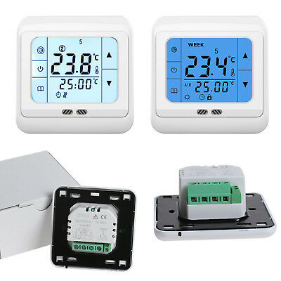 16A digitale touch screen termostato riscaldamento a pavimento thermostat 220V