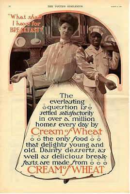 What shall I have for breakfast    -   Cream of Wheat  - Black Americana - 1904