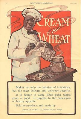Makes not only the daintiest of breakfasts  - Cream of Wheat - Black Americana