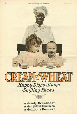 Happy Dispositions -  Smiling Faces   -   Cream of Wheat   -    Black Americana