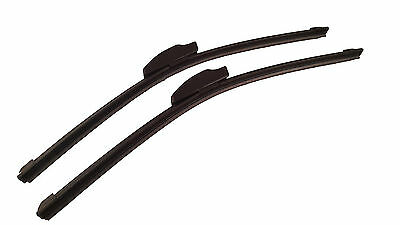 Front Pair Wiper Blades - Alfa Romeo Montreal 1974-1976 16/16in