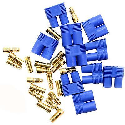 5pairs Male / Female EC3 Style Connector w/ 10pairs 3.5mm Gold Bullet Plug
