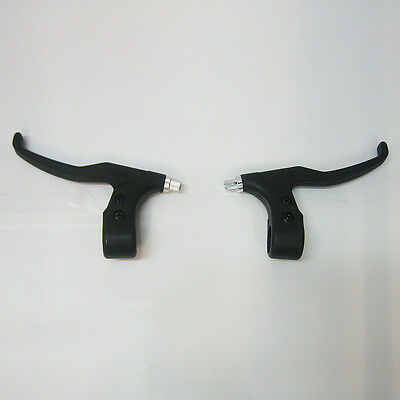 Pair Alloy Bike Bicycle Cycle Mountain Front/Rear Hand Brake Levers Two Finger