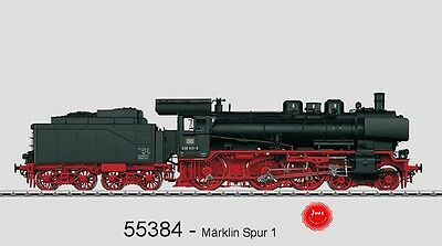 Märklin 55384 steam locomotive BR 038.10 the DB mfx Sound Metal version #new in