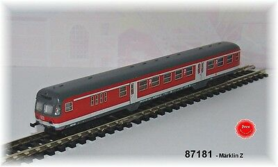 Märklin 87181 Commuter car with Control compartment the DB AG 2. Class # in #